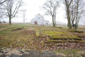 Fundamenty starego kościoła